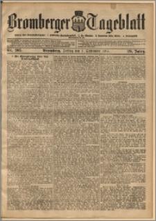 Bromberger Tageblatt. J. 29, 1905, nr 205