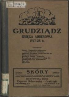 Grudziądz: księga adresowa 1927-28 r.