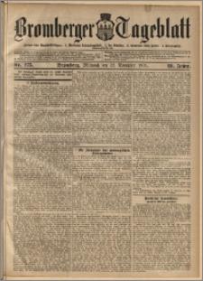 Bromberger Tageblatt. J. 29, 1905, nr 275