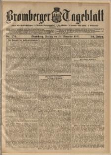 Bromberger Tageblatt. J. 29, 1905, nr 276