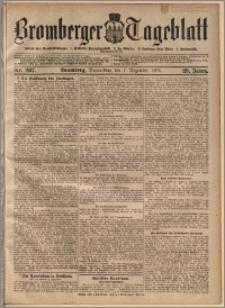 Bromberger Tageblatt. J. 29, 1905, nr 287