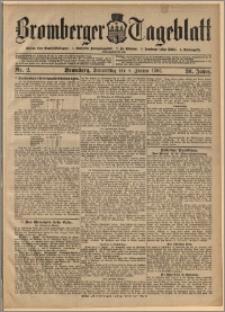 Bromberger Tageblatt. J. 30, 1906, nr 2