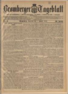 Bromberger Tageblatt. J. 30, 1906, nr 5