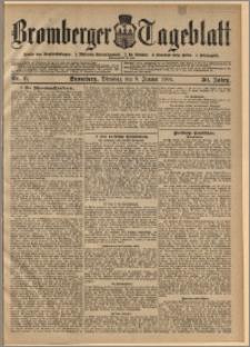 Bromberger Tageblatt. J. 30, 1906, nr 6