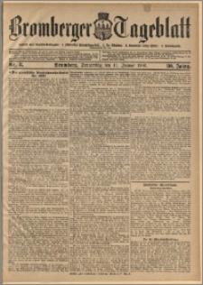 Bromberger Tageblatt. J. 30, 1906, nr 8