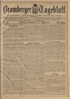 Bromberger Tageblatt. J. 30, 1906, nr 10