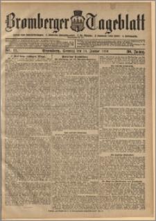 Bromberger Tageblatt. J. 30, 1906, nr 11
