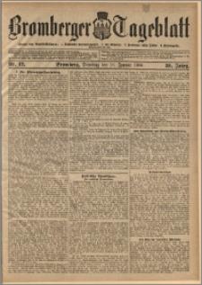 Bromberger Tageblatt. J. 30, 1906, nr 12