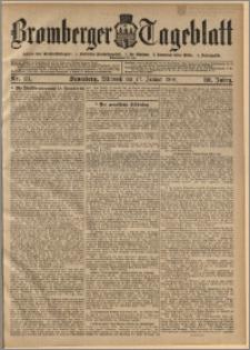 Bromberger Tageblatt. J. 30, 1906, nr 13