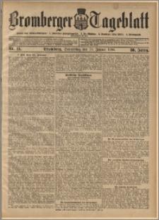 Bromberger Tageblatt. J. 30, 1906, nr 14