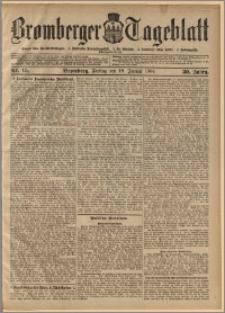 Bromberger Tageblatt. J. 30, 1906, nr 15