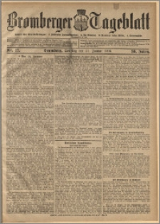 Bromberger Tageblatt. J. 30, 1906, nr 17