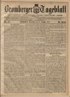 Bromberger Tageblatt. J. 30, 1906, nr 18