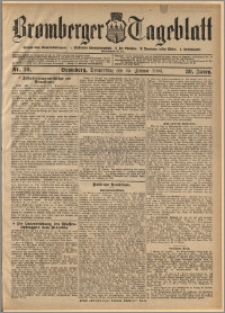 Bromberger Tageblatt. J. 30, 1906, nr 20