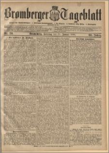 Bromberger Tageblatt. J. 30, 1906, nr 23
