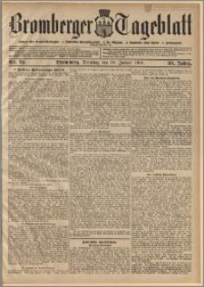 Bromberger Tageblatt. J. 30, 1906, nr 24