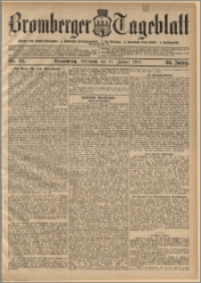 Bromberger Tageblatt. J. 30, 1906, nr 25