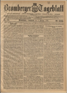 Bromberger Tageblatt. J. 30, 1906, nr 28