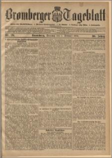 Bromberger Tageblatt. J. 30, 1906, nr 29