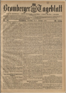 Bromberger Tageblatt. J. 30, 1906, nr 30