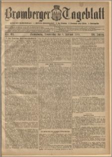 Bromberger Tageblatt. J. 30, 1906, nr 32