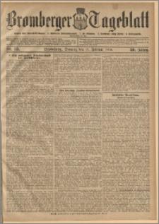 Bromberger Tageblatt. J. 30, 1906, nr 35
