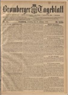 Bromberger Tageblatt. J. 30, 1906, nr 36