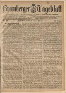 Bromberger Tageblatt. J. 30, 1906, nr 37