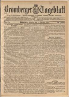 Bromberger Tageblatt. J. 30, 1906, nr 41
