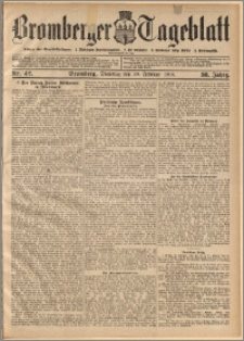Bromberger Tageblatt. J. 30, 1906, nr 42