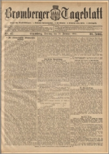 Bromberger Tageblatt. J. 30, 1906, nr 47