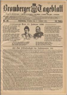 Bromberger Tageblatt. J. 30, 1906, nr 48