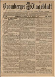 Bromberger Tageblatt. J. 30, 1906, nr 49