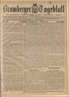 Bromberger Tageblatt. J. 30, 1906, nr 59
