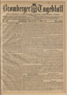 Bromberger Tageblatt. J. 30, 1906, nr 61