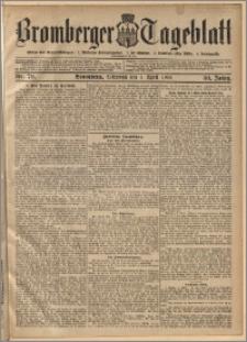 Bromberger Tageblatt. J. 30, 1906, nr 79