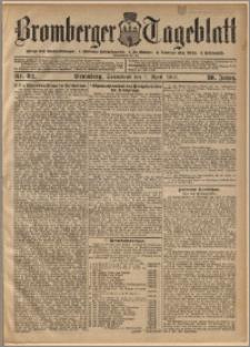 Bromberger Tageblatt. J. 30, 1906, nr 82