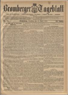 Bromberger Tageblatt. J. 30, 1906, nr 84