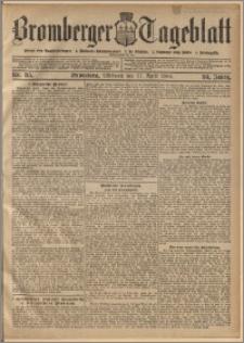 Bromberger Tageblatt. J. 30, 1906, nr 85