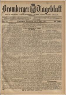 Bromberger Tageblatt. J. 30, 1906, nr 90