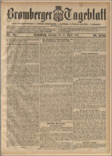 Bromberger Tageblatt. J. 30, 1906, nr 93