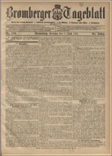 Bromberger Tageblatt. J. 30, 1906, nr 128