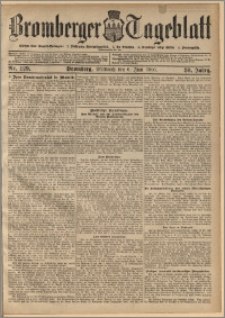 Bromberger Tageblatt. J. 30, 1906, nr 129
