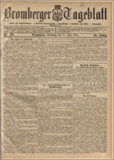 Bromberger Tageblatt. J. 30, 1906, nr 176