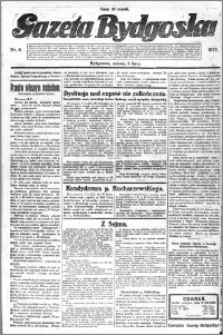 Gazeta Bydgoska 1922.07.08 R.1 nr 6
