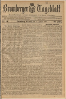 Bromberger Tageblatt. J. 32, 1908, nr 24