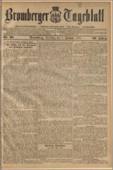 Bromberger Tageblatt. J. 32, 1908, nr 29