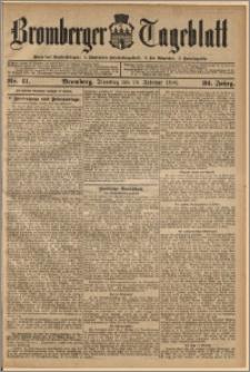 Bromberger Tageblatt. J. 32, 1908, nr 41
