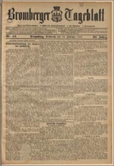 Bromberger Tageblatt. J. 32, 1908, nr 42