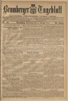 Bromberger Tageblatt. J. 32, 1908, nr 43